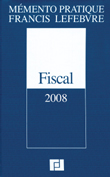 A vendre - Memento pratique Francis Lefebvre - FISCAL 2008