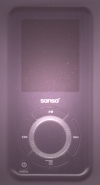 Sansa e270 MP3 Player 6GB