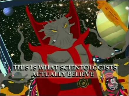 episode de southpark sur la scientologie